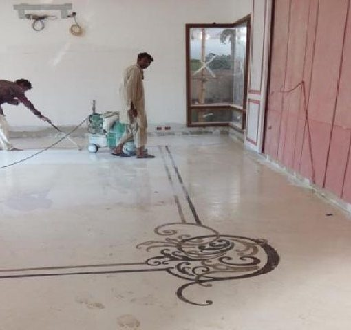 Marble Tile Fixing